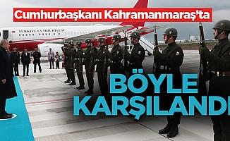 Cumhurbaşkanı Erdoğan Kahramanmaraş'ta!