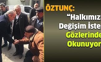 """""""Halkımızın Değişim İsteği Gözlerinden Okunuyor!"""""""