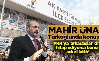 """""""PKK'ya 'arkadaşlar' diye hitap ediyorsa bunun adı zillettir"""""""