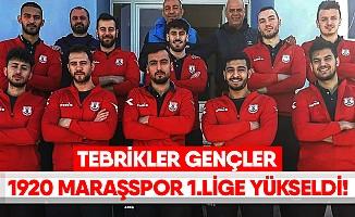 1920 Maraşspor, 1. Lige yükseldi!