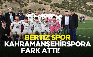 Bertizspor, Kahramanşehirspora fark attı!