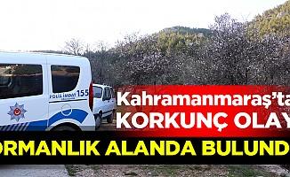 Kahramanmaraş'ta ceset bulundu!