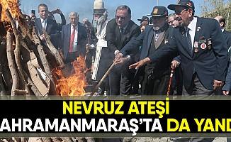 Nevruz ateşi yandı