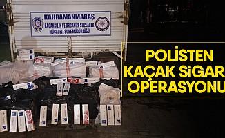 Polisten kaçak sigara operasyonu!