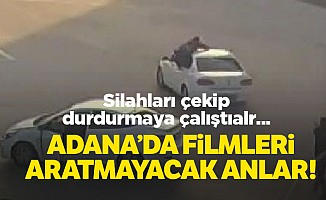 Adana'da filmleri aratmayacak operasyon!