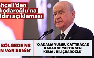 Bahçeli'denKılıçdaroğlu'na saldırı açıklaması