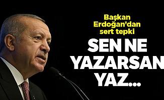 Başkan Erdoğan'danFinancial Times'a sert tepki!