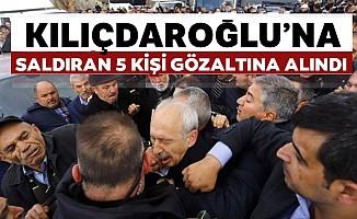 CHPGenel BaşkanıKemal Kılıçdaroğlu'na yumruk atan kişi yakalandı!