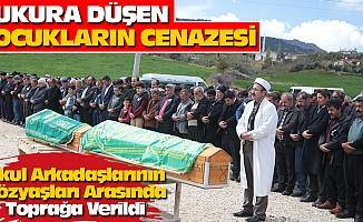 Çukura Düşen Çocukların Cenazesi Toprağa Verildi