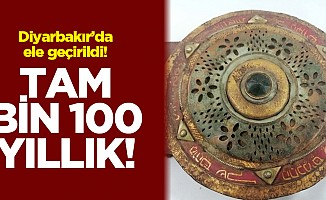 Diyarbakır'da altın yazmalı 1100 yıllıkkitapele geçirildi