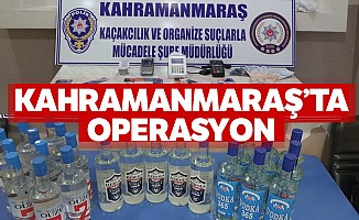 Kahramanmaraş'ta operasyon