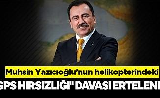"""Muhsin Yazıcıoğlu'nun helikopterindeki """"GPS hırsızlığı"""" davası ertelendi"""
