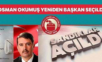 Osman Okumuş yeniden başkan seçildi