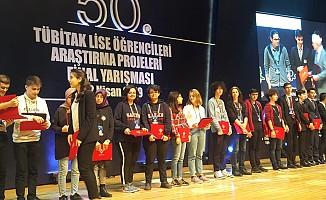 SANKO öğrencileri üçüncülük ve teşvik ödülü ile döndü