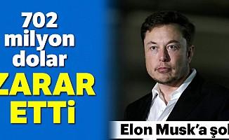 Tesla'dan 702 milyon dolar zarar!