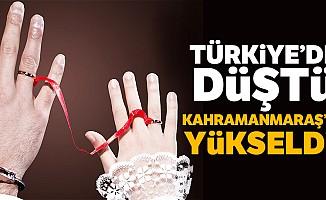 Türkiye'de düştü Kahramanmaraş'ta yükseldi!
