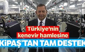 Türkiye'nin kenevir hamlesine Kipaş'tan tam destek