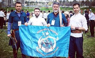 Türkoğlu avasım sporcularından büyük başarı