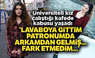 Uşak'ta kafeteryada yaşanan iğrenç olayda son dakika haberi!