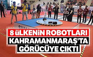 8 ülkenin robotları Kahramanmaraş'ta görücüye çıktı