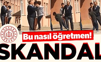 Çankırı'da skandal görüntüler!
