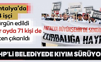 CHP'den yine sürgün yine kıyım