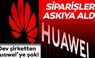 Dev şirkettenHuawei'ye şok!