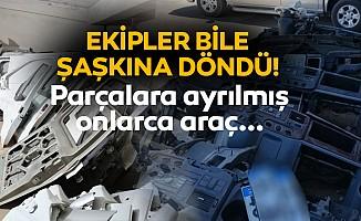 Diyarbakır'da hacizli araçları parçalayanlara operasyon