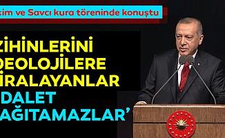 Erdoğan: Zihinlerini ideolojilere kiralayanlar adalet dağıtamaz