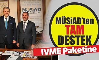 MÜSİAD'tan İVME Paketine destek!