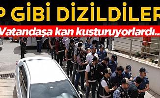 'Şimşekler' grubuna operasyon: 16 gözaltı