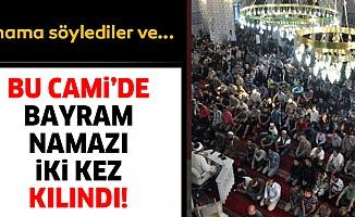 Iğdır'daki camidebayram namazıiki kez kılındı