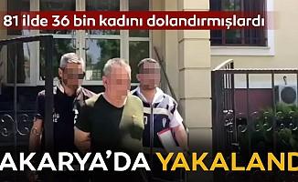 İş ilanıyla 36 bin kadını dolandıran şüpheliler yakalandı