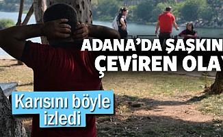 Adana'dan şaşkına çeviren olay