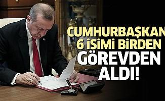 Cumhurbaşkanı Erdoğan Görevden aldı!