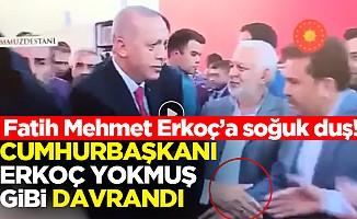Cumhurbaşkanı Erdoğan'dan Erkoç'a soğuk duş!