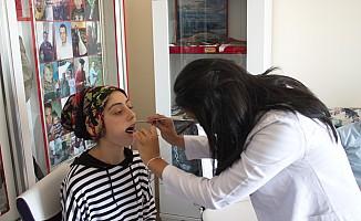 Diş Hekimliği Fakültesinden Şehit Ailelerine Diş Taraması