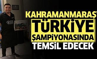 Kahramanmaraş'ı Türkiye Şampiyonasında Temsil Edecek