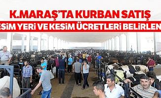 Kahramanmaraş'ta Kurban Satış, Kesim Yeri ve Kesim Ücretleri Belirlendi