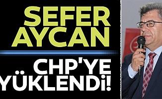 MHP'li Aycan CHP'ye yüklendi!