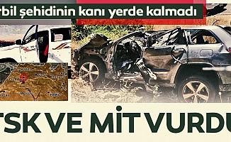 TSKveMİTErbil suikastının planlayıcılarını vurdu
