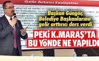 Belediye başkanlarına ders veren Güngör Büyükşehir Belediyesinde hangi adımları attı!