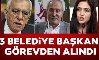Diyarbakır, Van ve Mardin'de belediye başkanları görevden alındı, valiler kayyım atandı
