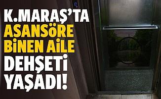 Kahramanmaraş'ta asansör kabini 6 kattan düştü!