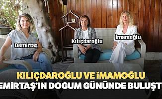Kılıçdaroğlu ve İmamoğlu Demirtaş'ın doğum gününde buluştu!