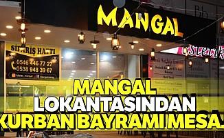 Mangal lokantasından Kurban Bayramı mesajı
