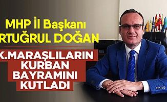 MHP İl Başkanı Doğan'dan bayram mesajı