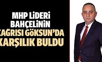 MHP Lideri Bahçelinin Çağrısı Göksun'da Karşılık Buldu