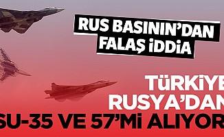 Rus basınından flaş Su-35 ve Su-57 iddiası
