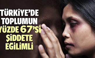 Türkiye'de Toplumun Yüzde 67'si Şiddete Eğilimli